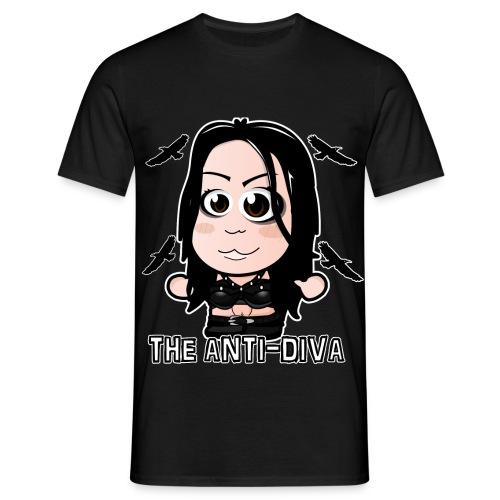 Chibi Paige - The Anti-Diva Shirt - Men's T-Shirt