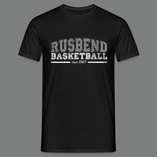 Rusbendbasketballlogo_gra - Männer T-Shirt