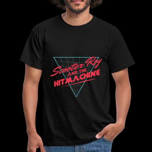 ScooterRoy and the Hitmachine - Mannen T-shirt