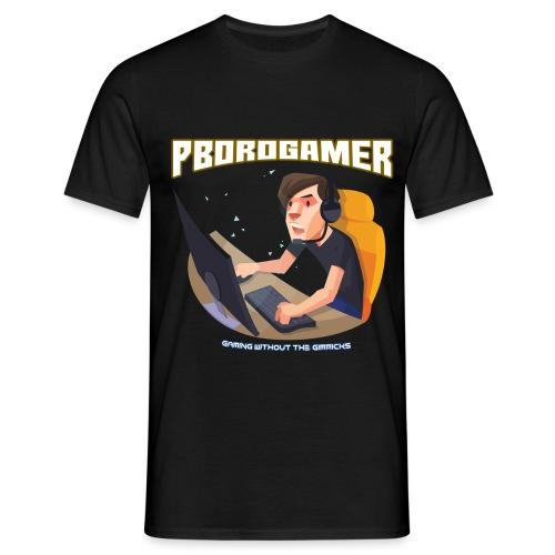 PBoroGamer Character - Men's T-Shirt