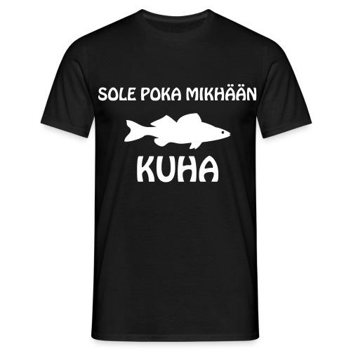 SOLE POKA MIKHÄÄN KUHA - Miesten t-paita