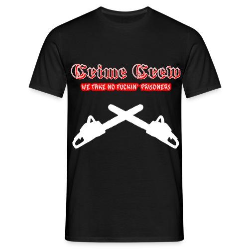 crimecrew chainsaw - Männer T-Shirt