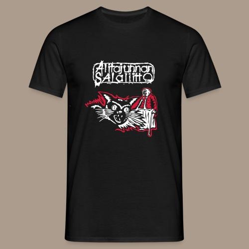 fnm-kissa-salaliittopaita - Miesten t-paita