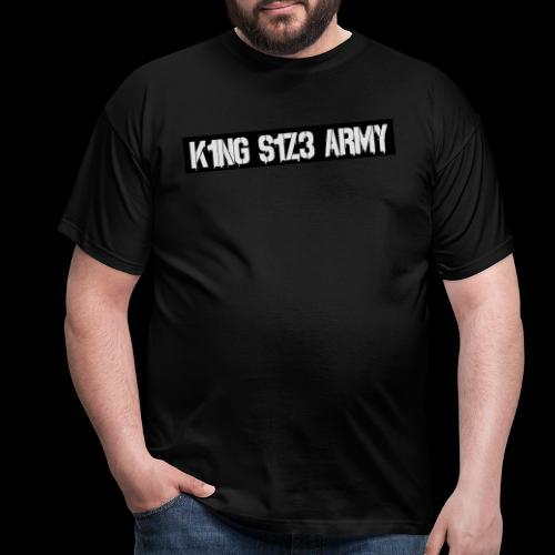 ksa logo schwarz - Männer T-Shirt