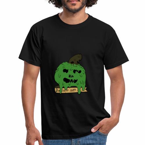 Pomme dégoulinante - T-shirt Homme