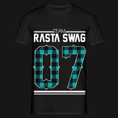 Team Rasta Swag 07 white png - T-shirt Homme