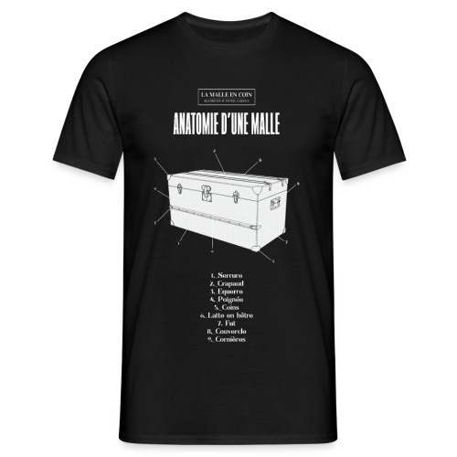 Tshirt La Malle en Coin ok - T-shirt Homme