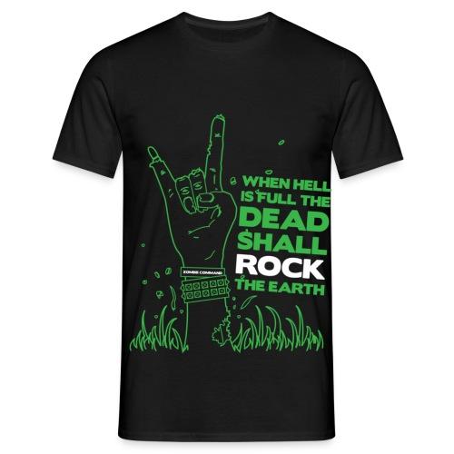 Dead Rock Green - Men's T-Shirt