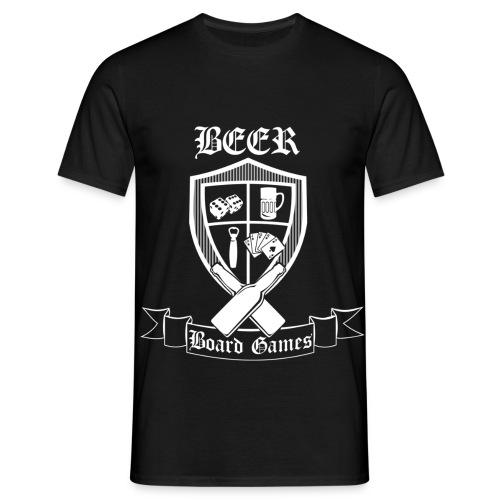 beersheildwhite - Men's T-Shirt