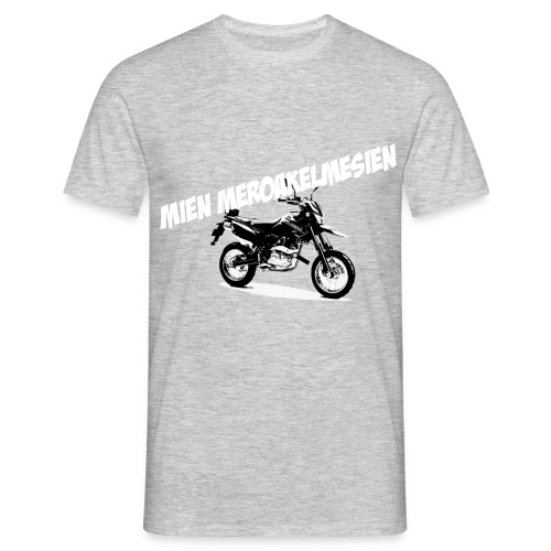 Mien meroakelmesien Mijn motor Gronings - Mannen T-shirt