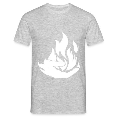 Flamekeeper logo - Mannen T-shirt