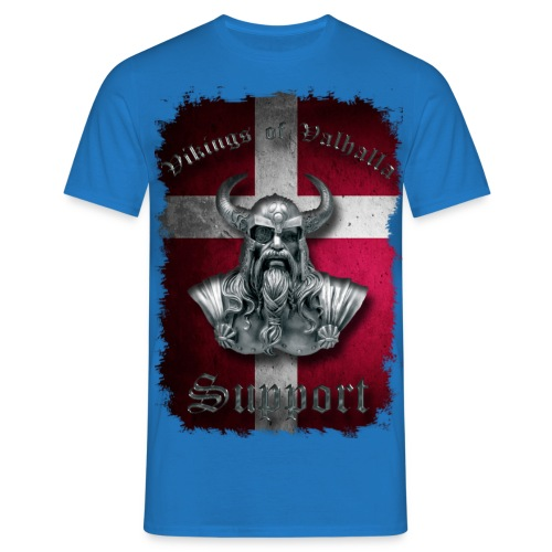 Dannebrog png - Herre-T-shirt