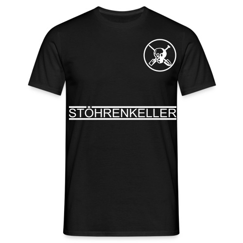 kellerkinder vorn - Männer T-Shirt