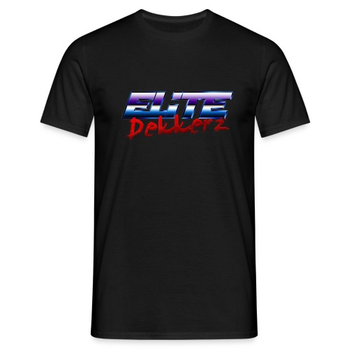 Elite Dekkerz Logo - Men's T-Shirt
