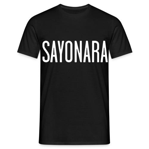 sayonara - Maglietta da uomo