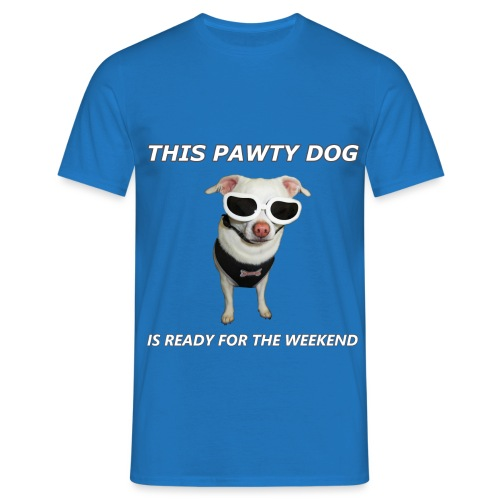 Pawty Dog - Men's T-Shirt