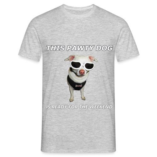 Pawty Dog - Men's T-Shirt