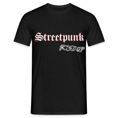streetpunk - Männer T-Shirt