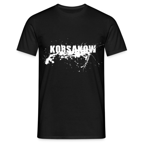 splatter white - Männer T-Shirt