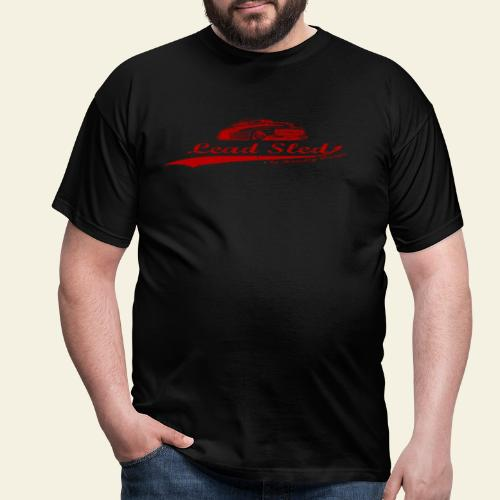 lead sled red - Herre-T-shirt