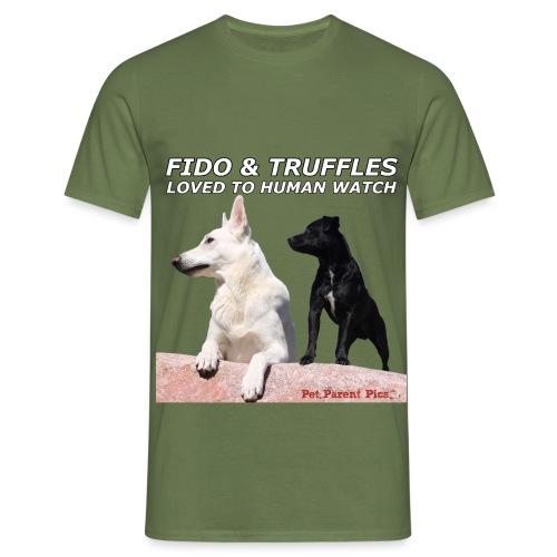 Fido and Truffles - Men's T-Shirt