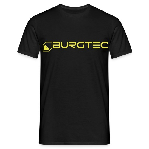 burtectextlogo outline ai1 - Men's T-Shirt