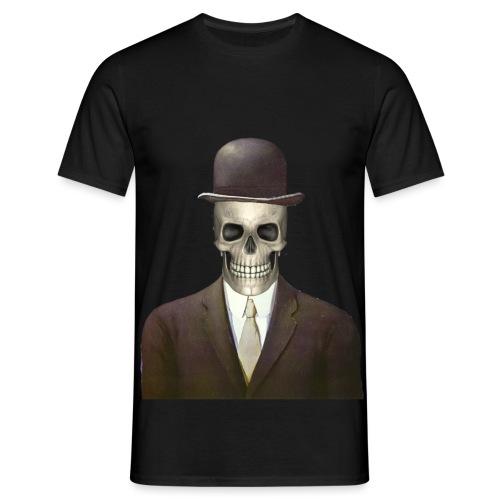 magritte skull - Maglietta da uomo