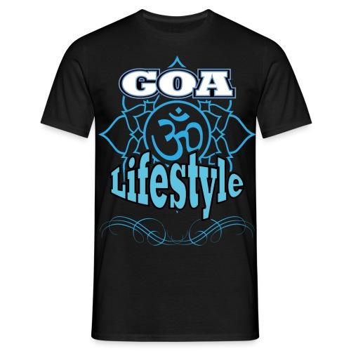 Goa Lifestyle - Männer T-Shirt