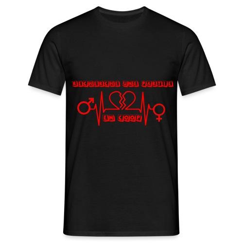 Recherche une partie en Coop - T-shirt Homme