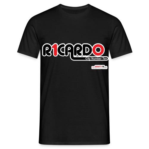 Ricardo City Number 10 Emblem - Men's T-Shirt