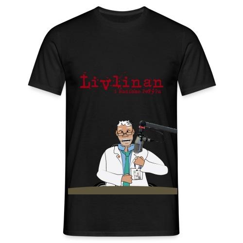Livlinan2 png - T-shirt herr