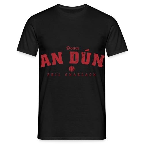 down vintage - Men's T-Shirt