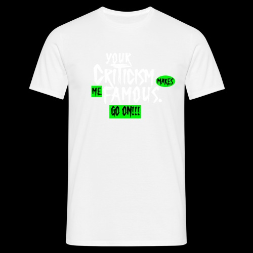 CRITICA 2 - Camiseta hombre