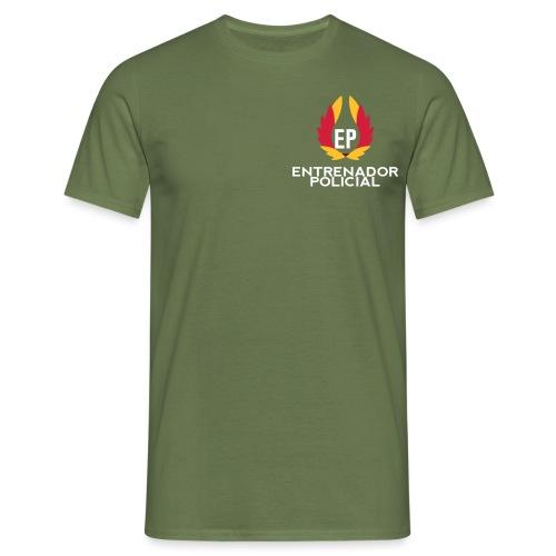 EntrenadorPolicial - Camiseta hombre