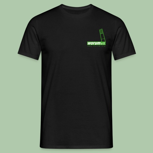 110608worumlogo4c1 - Männer T-Shirt