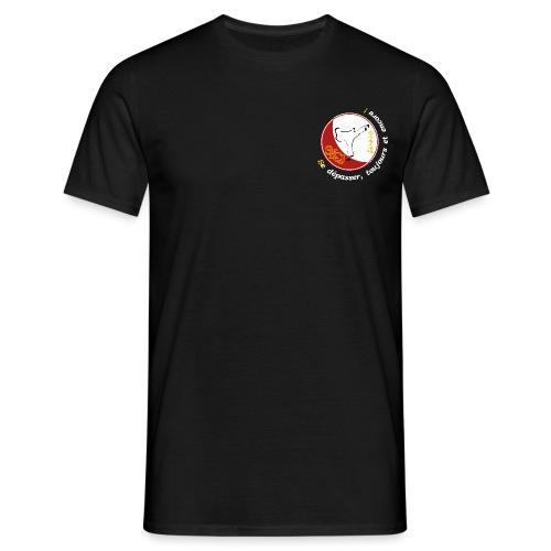 Logo TShirt Noir png - T-shirt Homme