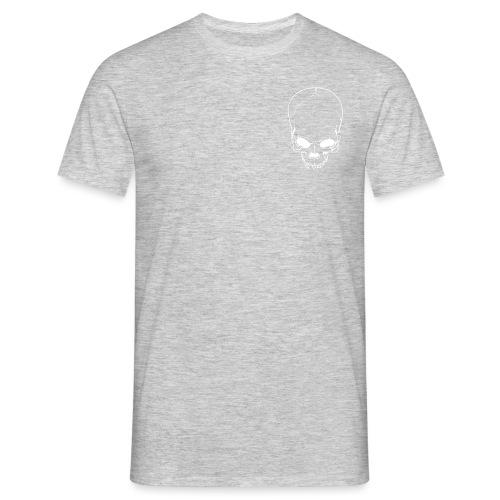 2747428 12821835 bm skull orig weiss - Männer T-Shirt