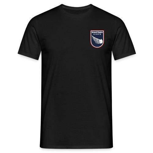 Armed Eagles com Logo B - Männer T-Shirt