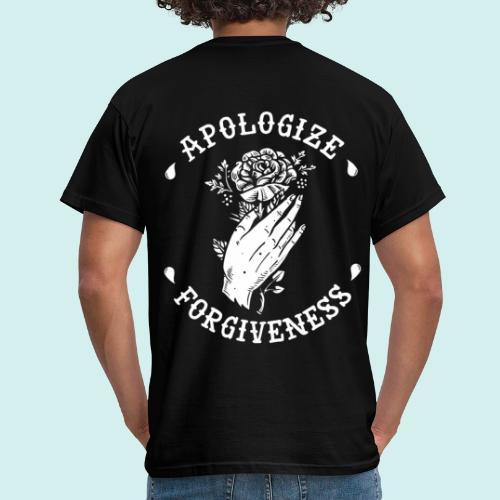 HELL apparel | APOLOGIZE & FORGIVENESS | 2019 - Männer T-Shirt