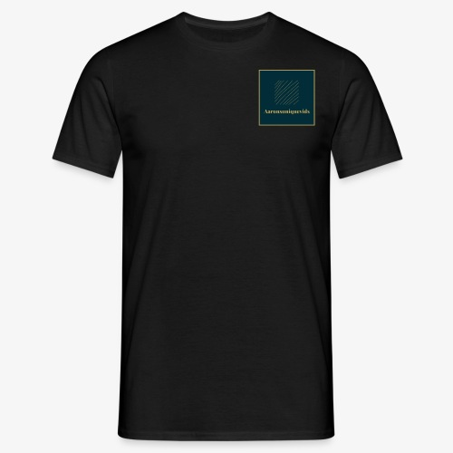 Aaronsuniquevids Original Logo - Men's T-Shirt