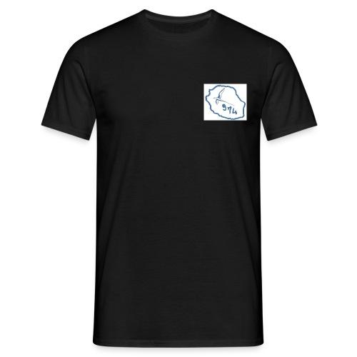 carte oiseaux - T-shirt Homme