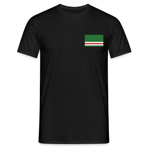 Chechen + Flagge - Männer T-Shirt
