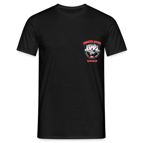 brustlogo aoz0182 - Männer T-Shirt