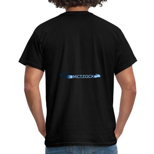 Logo schlicht beidseitig - Männer T-Shirt