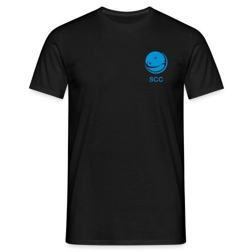 SCC und Bildmarke einfarbig - Männer T-Shirt