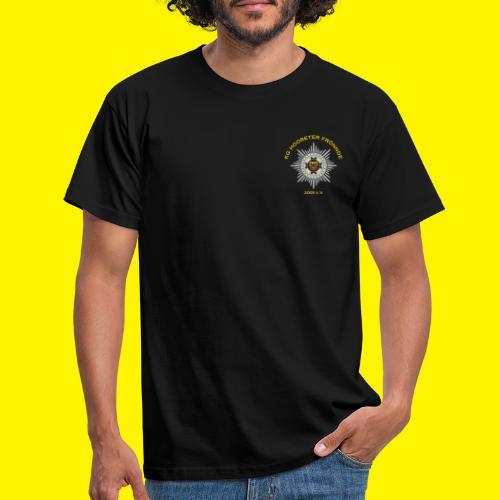 Gelbe Schrift - Männer T-Shirt
