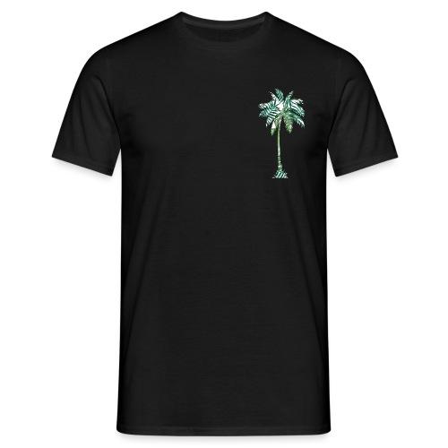 Fancy Palme Grün - Männer T-Shirt
