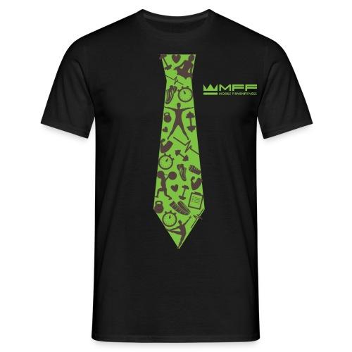 MFF Tie Design - Männer T-Shirt