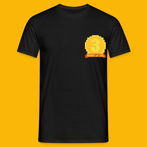 3YearBadge_3colours - Männer T-Shirt