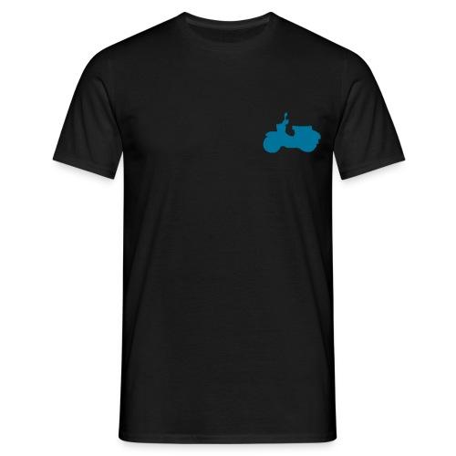 schwalbe blau gross - Männer T-Shirt